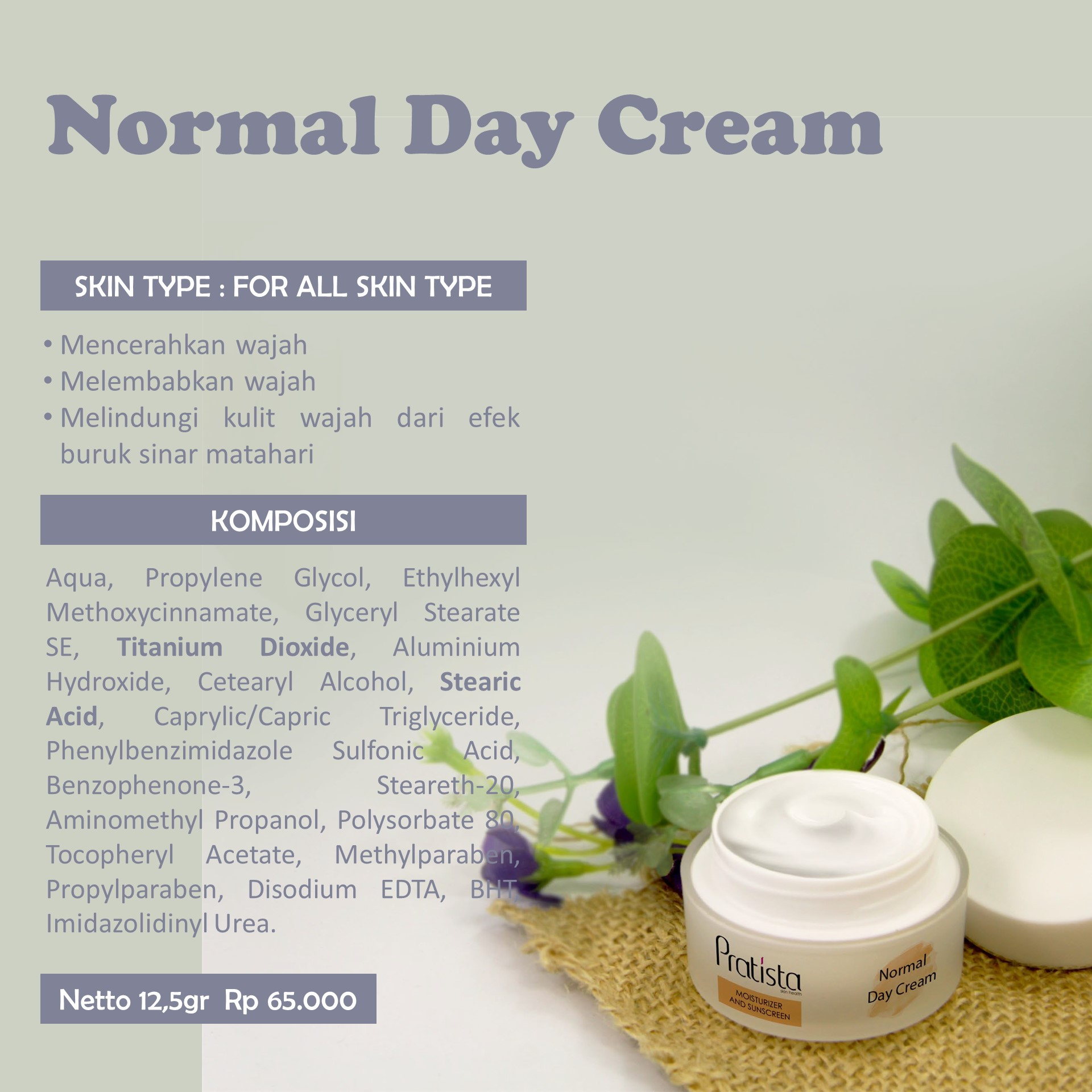 Normal Day Cream (DC)